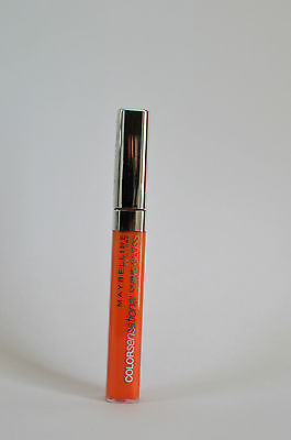 Maybelline ColorSensational Shine Gloss 460 Electric Orange cremige Textur Honig