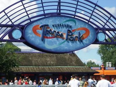 4 x THORPE PARK TICKETS ~ SATURDAY 25 AUGUST ~ OPEN TIL 10PM - LOVE ISLAND EVENT