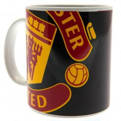 Manchester United Fc Man Utd Official Ceramic Coffee Tea Mug HT