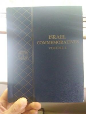 Israel Commemorative Coins Album with 8 Coins (Including Rare Henrietta Szold)