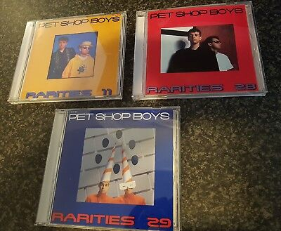 Pet Shop Boys Rarities Bundle 11, 28 , 29
