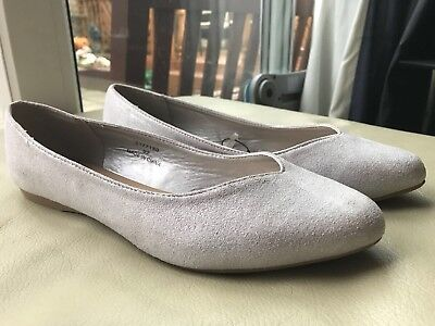 Ladies Flat Shoes Size 6 Wide Fit From New Look Brand New