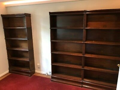Globe Wernicke Stacking Barrister Bookcases Base c11 198 grade