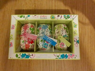 Cath Kidston Flora Assorted Scented Soap Trio New in Gift Box