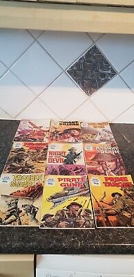 Vintage - Battle Picture Library Comics x 9 - 30/50p issues - see pictures