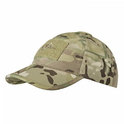 Helikon Tex Tactical Outdoor Freizeit Sommer Baseball FOLDING Cap Mütze Schwarz