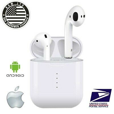 Airpods Style Bluetooth Wireless Earbuds For iPhone