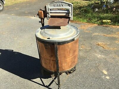 Antique Easy Copper Brass Electric Washing Machine