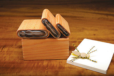 """DELUXE UNIVERSAL BUG WINGS /""""6 CUTTER SET/""""  with Wood Caddy Box Fly Tying"""