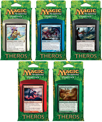 Theros Intro Pack Set of Five (ENGLISH) FACTORY SEALED BRAND NEW MAGIC ABUGames