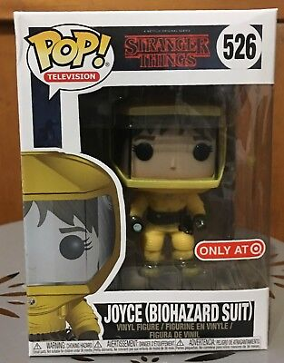 Funko POP Television Stranger Things Joyce Biohazard Suit Exclusive w/ Protector