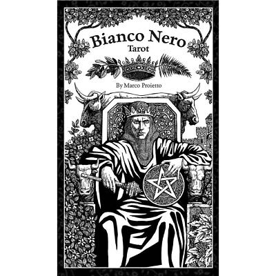 NEW Bianco Nero (Black and White) Tarot (2018) Deck 78 Cards w/ Booklet