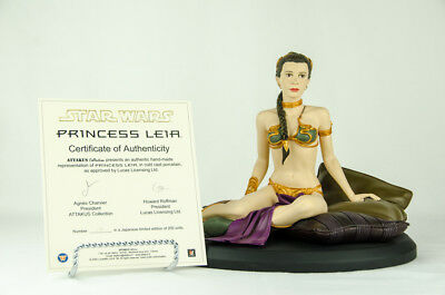 Star Wars Princess Leia Jabba Slave Attakus Statue w/ COA Only 200 Made