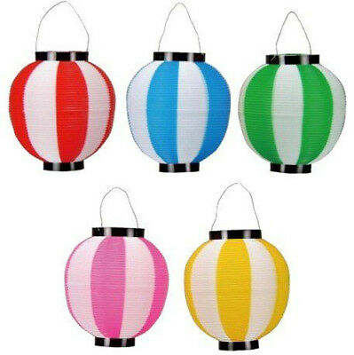 Matsuri Chochin Japanese Festival Lantern Shade 5 colors set f/s Japan New!!