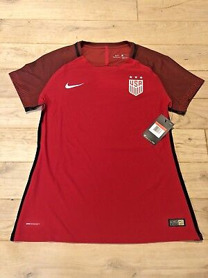 fd9767885 NIKE USA SOCCER JERSEY - US USWNT 2017 Player Issue Centennial DTOM Size L