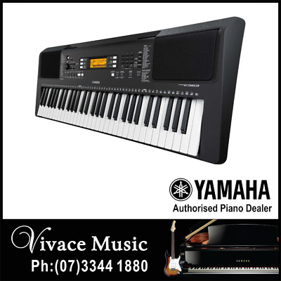 YAMAHA PSRE363 DIGITAL MUSIC KEYBOARD with POWER ADAPTOR & 3 YEAR WARRANTY