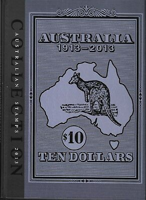 Australia Post 2013 Stamp Collection Album & Cover Only- No Stamps