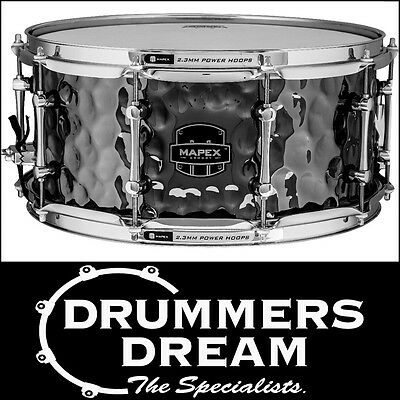 """MAPEX Armory Series """"DAISY CUTTER"""" 14""""x6.5"""" Steel Snare Drum  Brand New"""