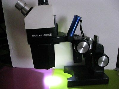 Bausch & Lomb StereoZoom 7 Mcroscope With Flippable Stand