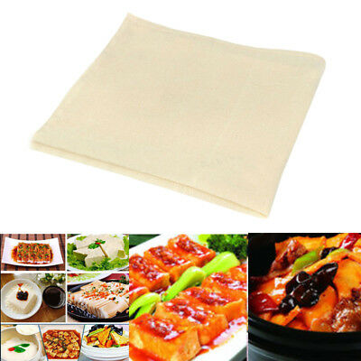 1/2/4/8pcs Cotton Tofu Maker Cheese Cloth Soy For Kitchen DIY Pressing Mould