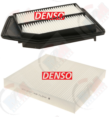 DENSO Air Filter + Cabin Filter SET for Honda Accord Acura TLX 2.4L