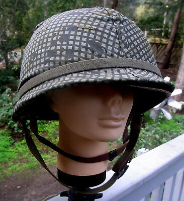 US Army helmet. Vietnam era. United States Military.