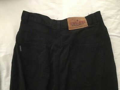 Vintage - Black High Waisted CORFU Cropped Mom Jean Pants