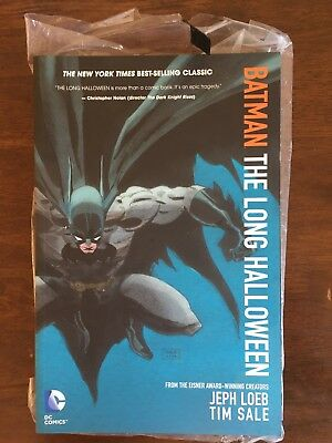 Batman: The Long Halloween.  Graphic Novel, paperback, perfect condition.