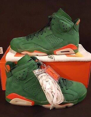 0b314c564894c1 Nike Air Jordan 6 Vi Retro Gatorade Green Nrg G8Rd Shoe Aj5986-335 Men Size