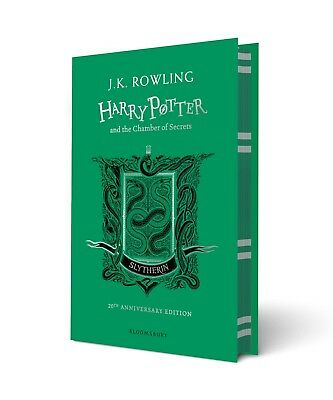 Harry Potter and the Chamber of Secrets (Hard Cover) Slytherin Edition Brand NEW