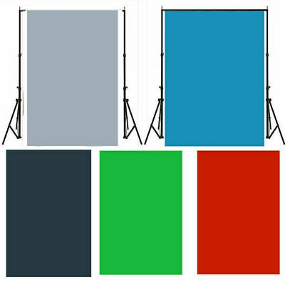 Solid Color Vinyl Photography Background Studio Wall Backdrop Photo Prop 3/5/7ft
