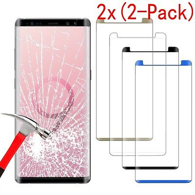 For Samsung Galaxy Note 9 Full Coverage Curved Tempered Glass Screen Protector