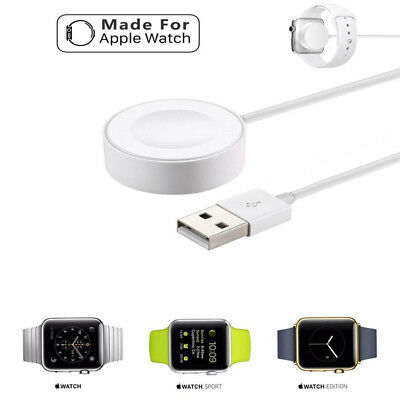 Apple Watch USB Magnetic Charger Charging Cable For iWatch Series 1/2/3 38 42mm