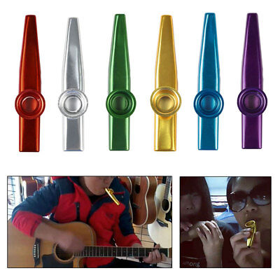 Golden Kazoo Classic Portable Musical Instrument Flute Percussion Orff Music AU