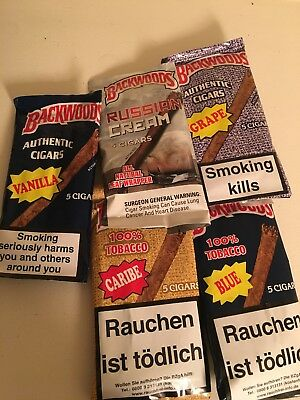 Backwoods Cigars Grape Pack of 5 AUTHENTIC discontinued collectible