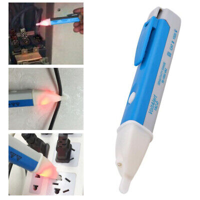 90-1000V LCD AC Electric Voltage Tester Pen Detector Sensor Stick Non-Contact