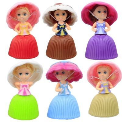 1pc Lovely Surprise Cupcake Princess Doll Transformed Scented Cake Girls Toys H