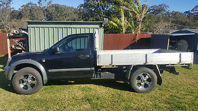 Holden Rodeo 2006 Single Cab Trayback