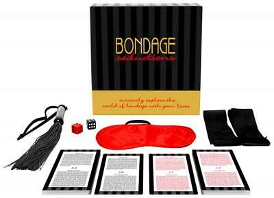 BONDAGE SEDUCTIONS ADULT GAME FUN SAUCY GIFT Romance Sex Aid UK SELLER QUICK
