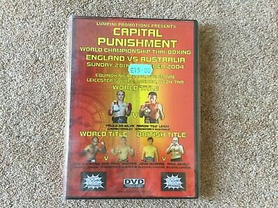 Thai Boxing DVDs, World Title & British Title England V Australia