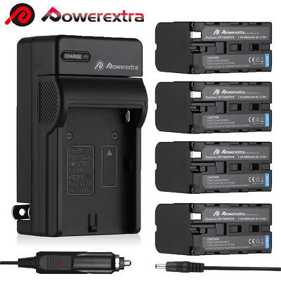 8800mAh NP-F960 NP-F970 Battery & Charger For Sony NP-F770 F570 NP-F550 NP-F950
