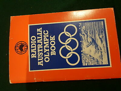 Vintage Radio Australia Olympic Book Programme Los Angeles 1984 By Mike Agostini