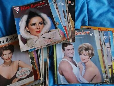 ABC FILM REVIEW MAGAZINE.  Bundle of 50 copies.   Good condition.