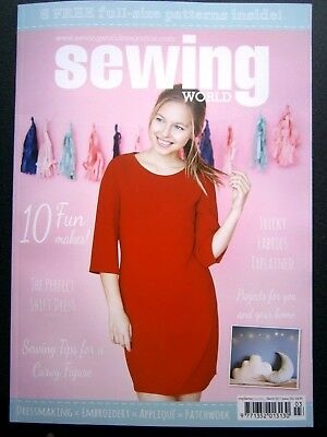Sewing World Magazine March 2017 (new)