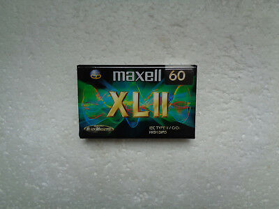 Vintage Audio Cassette MAXELL XL II 60 * Rare Europe Model 1998 *