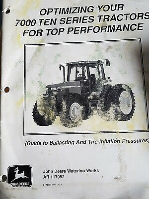 john deere optimizing your tractor manual