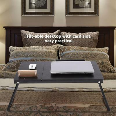 Portable Multi-Fuction Willow Laptop Notebook Computer Home Desk Bed Tray Table