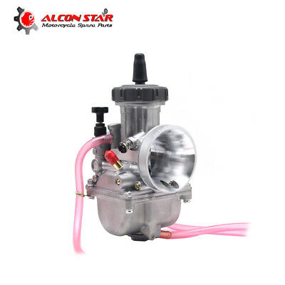 33mm Universal Motorcycle Carburetor PWK 33 For YZ125 CR125 KX12 Engine Carbs