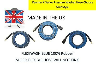Karcher K2 Series Pressure Washer HOSE 100% RUBBER KINK & TANGLE FREE