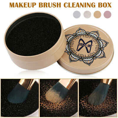 Eyeshadow Sponge Cleaner Shadow Switch Solo Brush Color Makeup Remover Dry Box